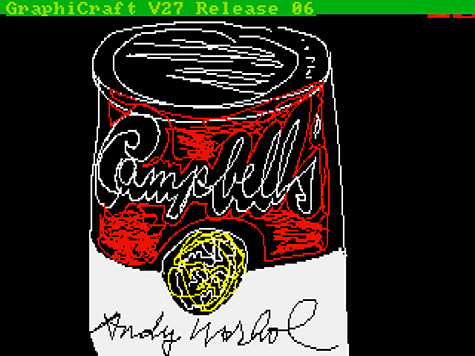 © 2014 The Andy Warhol Foundation for the Visual Arts, Inc. / Artists Rights Society (ARS), New York. Used here for commentary and criticism in accordance with the fair use doctrine.
