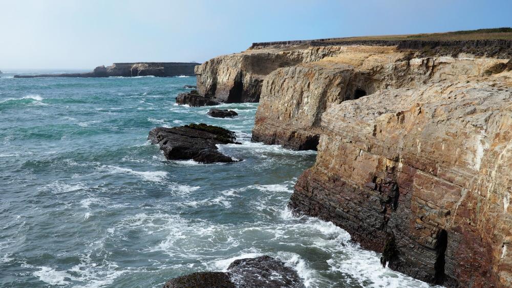 Seaside cliffs in Point Arena